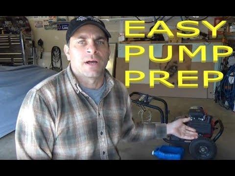 Pressure/Power Washer Pump Winterizing - Save the Pump!