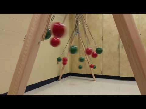 Bocce Ball Pendulum Snake Wave Machine