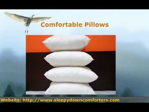 For a Great Night's Sleep, Choose Down Comforters