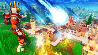 TILTED TOWERS Is Going To Be *DESTROYED* By A METEOR?!? Fortnite Battle Royale