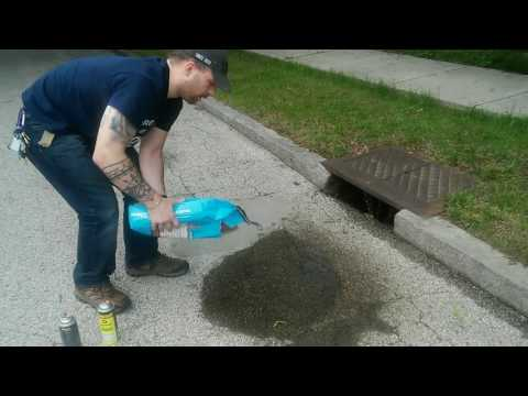 How to Remove Dried Automotive Oil Stains on Driveway, Concrete, or Bricks