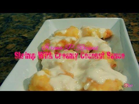 Shrimp with Creamy Coconut Sauce