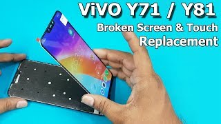 ViVO Y81 / Y71 Broken Screen and Touch Combo Replacement    How To Replace Mobile LCD Screen