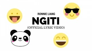 Ronnie Liang - Ngiti (Official Lyric Video)