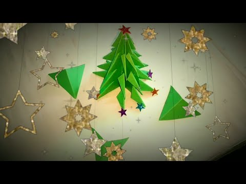 Christmas Tree || How to make a 3D Paper Christmas Tree DIY || Latest updates
