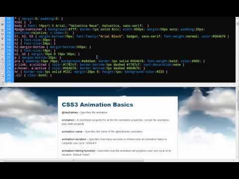 CSS3 Animation Basics