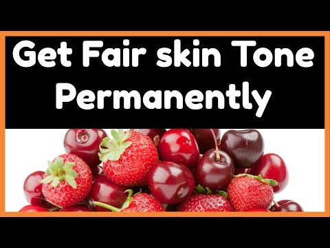 GET FAIR, EVEN SKIN TONE NATURALLY FAST | TOP 10 RED FRUITS FOR  GLOWING SKIN,LIGHTEN SKIN NATURALLY