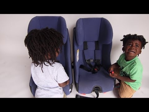How to teach toddlers to buckle car seats in 4 easy steps.