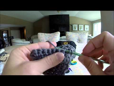How to Crochet Headbands with Button