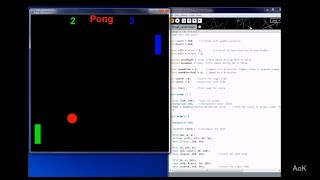 Processing Pong Game: Make Ball Bounce Around Screen (Part 1