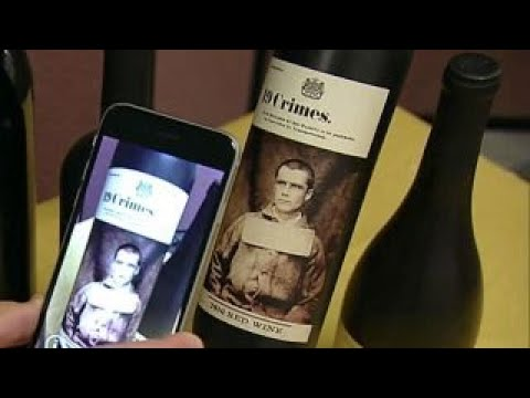 Using augmented reality to sell wine