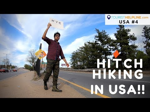 Hitchhiking in USA | How to start?