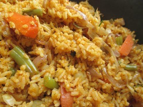 Vegetable Biryani or Vegetable Rice or Vegetable Pulav (in tamil)