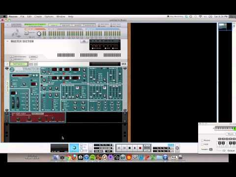 How to make a Disclosure Synth in Reason 6 Tutorial