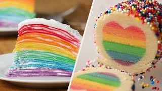 7 Dazzling Rainbow Recipes • Tasty
