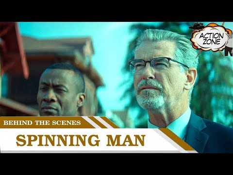 Behind the scenes of Spinning Man with author George Harrar | Action Zone