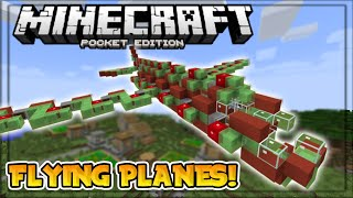 Flying a GIANT slime block plane in minecraft! (short)