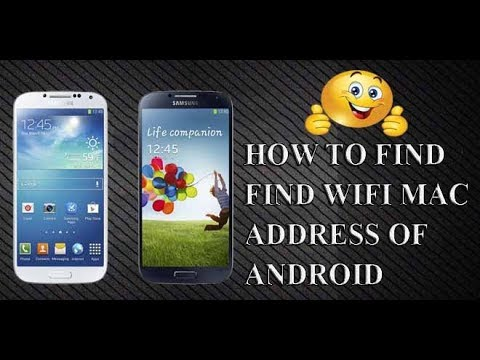 How To Find WiFi MAC Address of Android Phone and how many devices connected to your wifi device