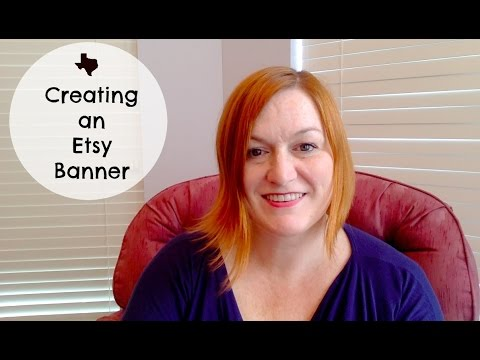 Creating a Banner for Your Etsy Shop or Updating Your Etsy Header for the Holidays