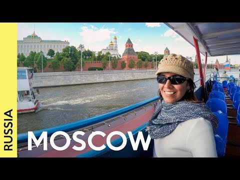 Best places to visit in MOSCOW outside Red Square | RUSSIA Vlog 3