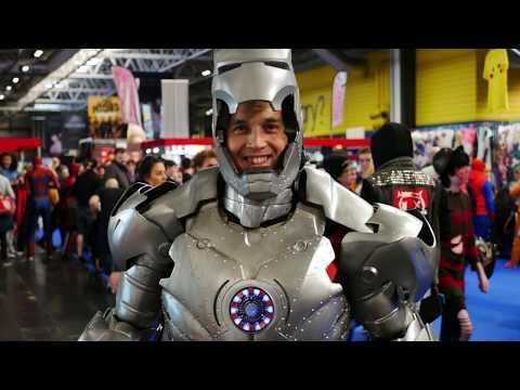 4K MCM Comic Con - Birmingham Sunday November 2017