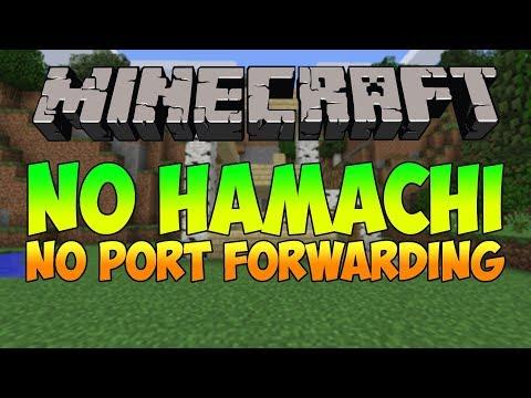 How to make a Minecraft Server[No Hamachi or Port forwarding]