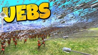 UEBS - Epic Archers Destroy Everything! - Ultimate Epic Battle Simulator Gameplay