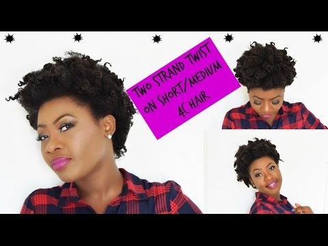 How to Get the Best Twist Out on Short/Medium 4c Hair