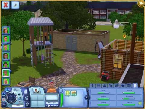 sims 3 children playing at the playground