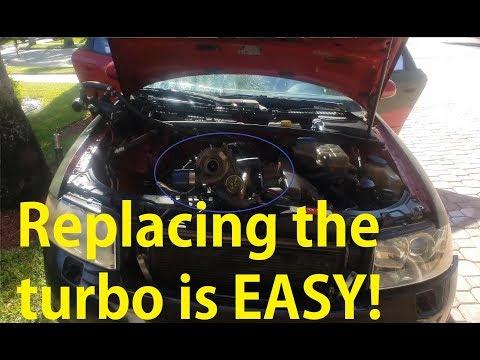 Audi DIY: $70 Used Turbo Fixed my Boost/Vacuum & Exhaust Leak on B6 2002 A4