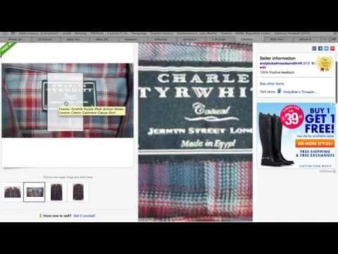 Sell Clothes Online eBay ~ Jermyn Street London