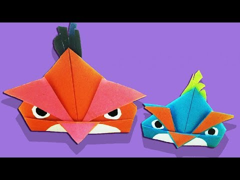How to Make a Paper Angry Bird - Easy Tutorials for | step by step | Mr.Paper crafts
