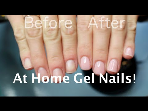 DIY At Home Gel Nail Polish!