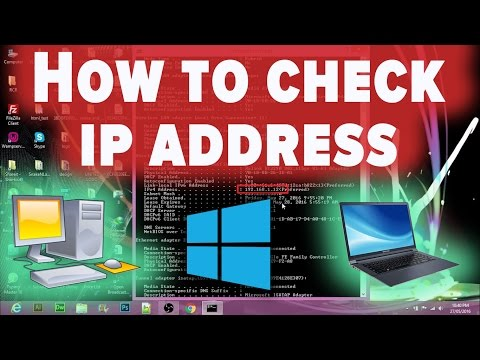 How to check IP Address on windows 7/8/8.1/10 - Hindi