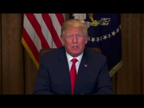 President Donald Trump Easter message - March 30, 2018