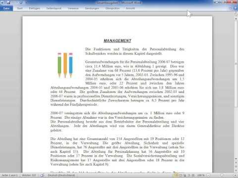 Microsoft Word 2010 Das Menüband wiederherstellen