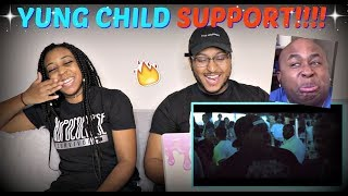 """Blastphamoushd """"YUNG CHILD SUPPORT - I Da Pappi (Official Music Video)"""" REACTION!!!"""