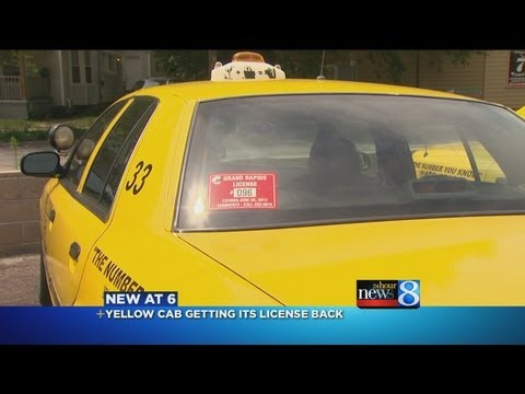 Yellow Cab to get its GR license back
