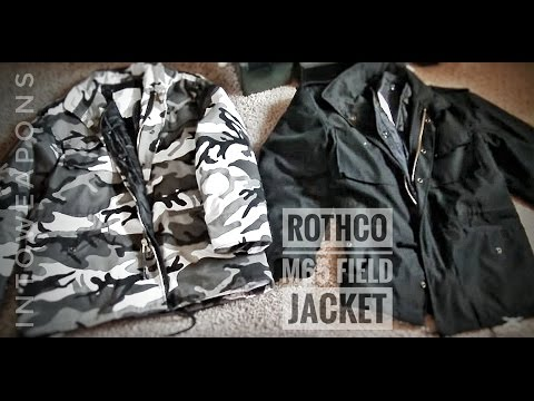 512d907bd24db Rothco M65 Field Jacket Review - City Camo and Black