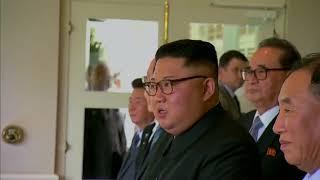 Trump and Kim in