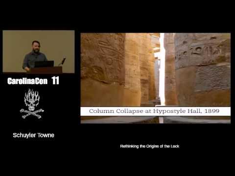 CarolinaCon: Rethinking the Origins of the Lock