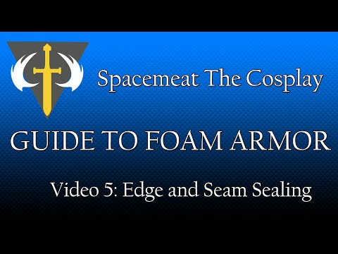 Guide to Foam Armor : Video 5 - Edge and Seam Sealing (Halo Cosplay)
