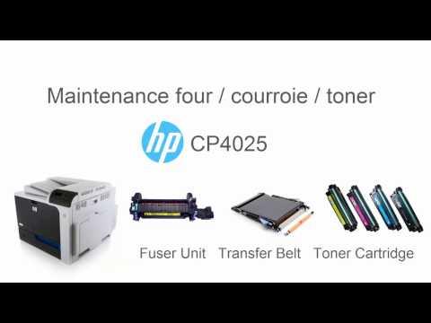 Maintenance CP 4025 HP
