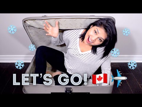 HOW TO  | What to pack for Canada | American Winter