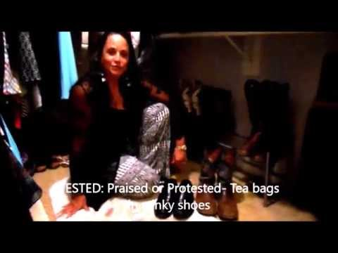 TESTED: Praised or Protested- stinky shoes: use tea bags to make the odor disapear