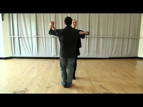 Learn How to Dance - The Foxtrot - beginner box lesson