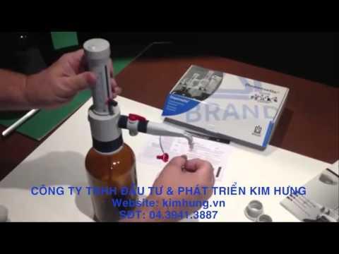 Bơm định liều Methadone Dispensette S (BRAND-ĐỨC)