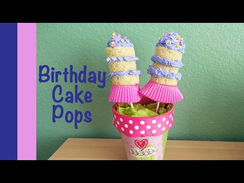 How to Make Birthday Cake Pops with Jill