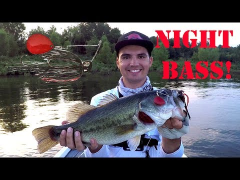Night Fishing Trick for Summer Bass