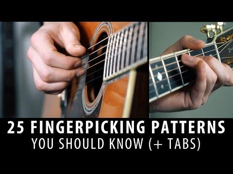25 Fingerpicking Patterns In 5 Minutes! (+tabs)